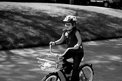 First bike ride web