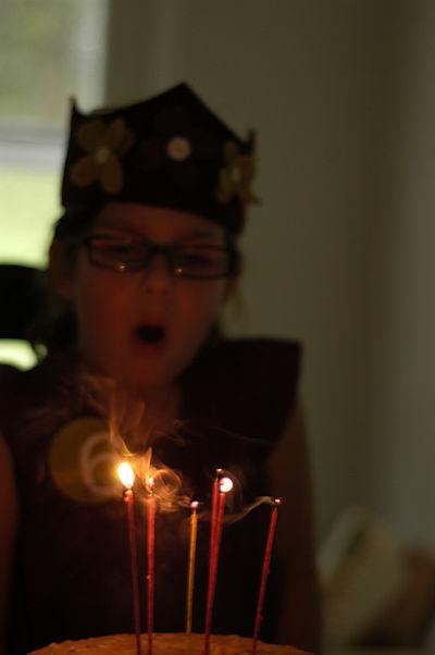 Birthday candles web