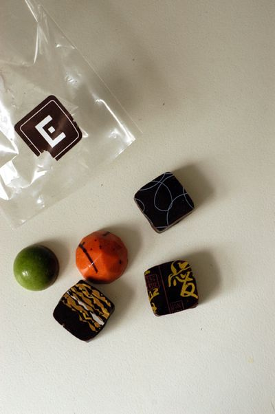 Fancy chocolates