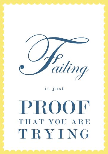 FAILING!