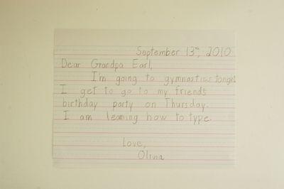 Olivia letter web